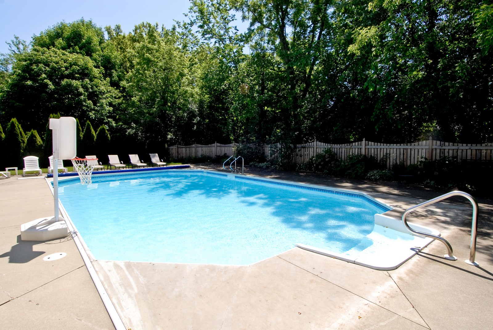 Real Estate Photography - 917 Jeffrey, St Charles, IL, 60174 - Pool