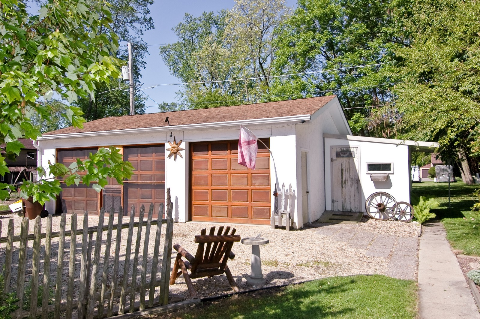 Real Estate Photography - 158 North Crystal Beach, Crystal Lake, IL, 60014 - Garage