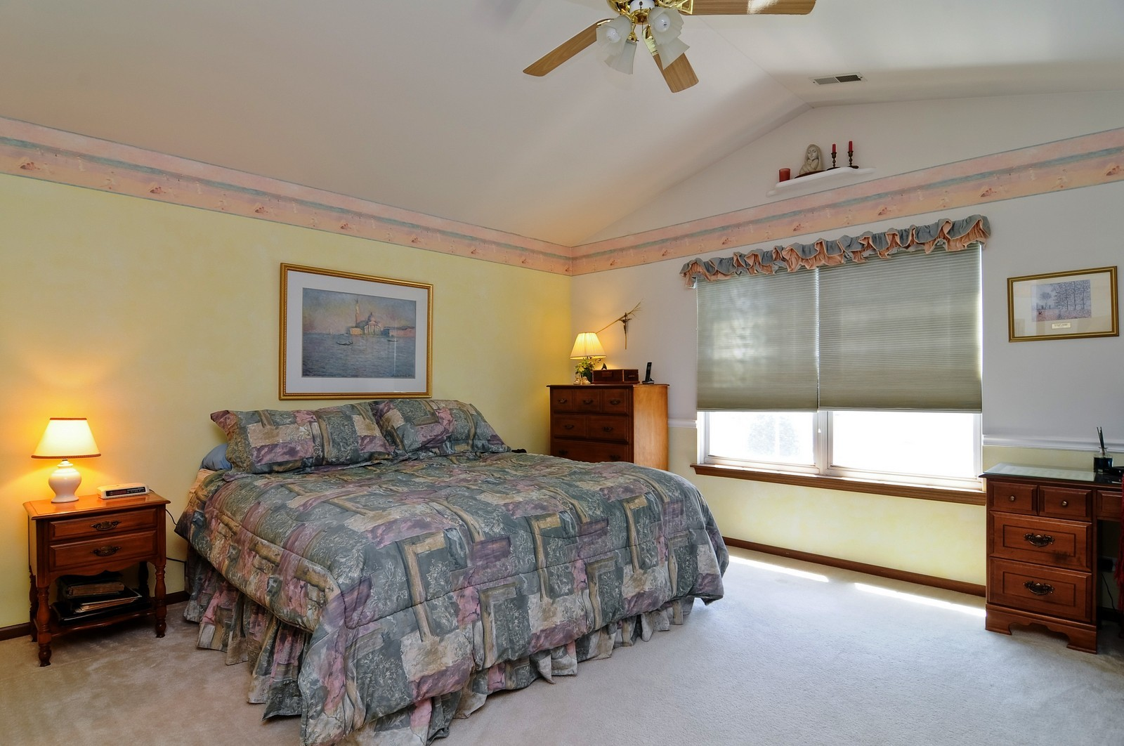 Real Estate Photography - 727 Sycamore, Lindenhurst, IL, 60046 - Master Bedroom