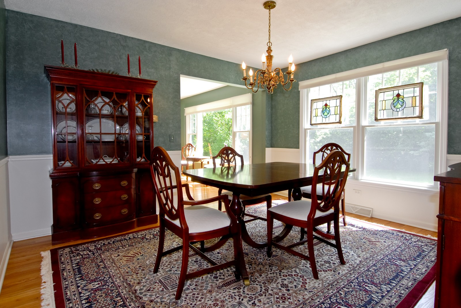 Real Estate Photography - 4N035 Thornapple Rd, St Charles, IL, 60174 - Dining Room
