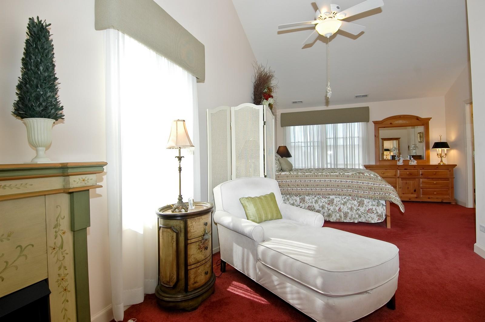 Real Estate Photography - 8337 Raptor, Lakewood, IL, 60014 - Master Bedroom