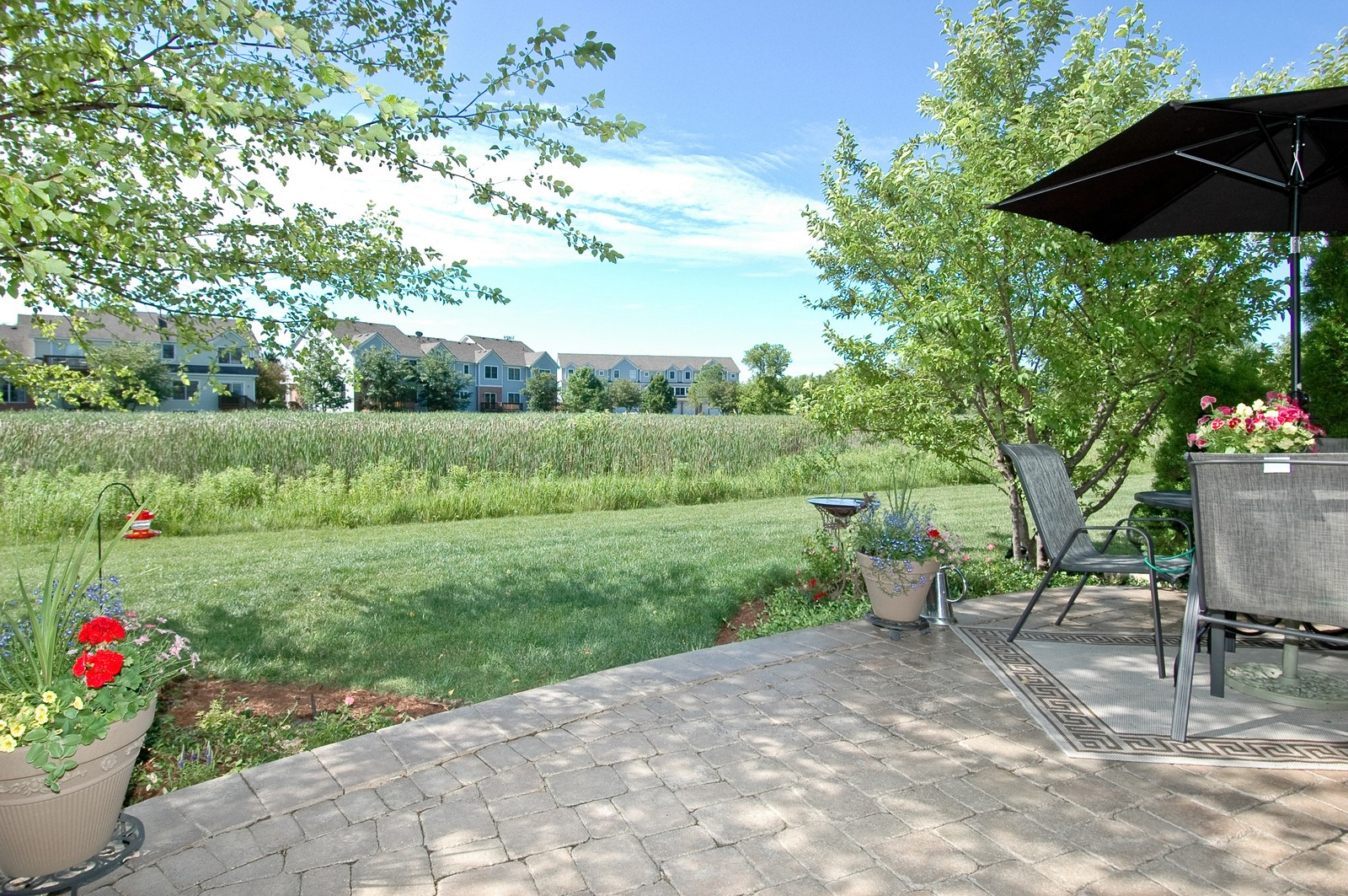 Real Estate Photography - 8337 Raptor, Lakewood, IL, 60014 - Patio
