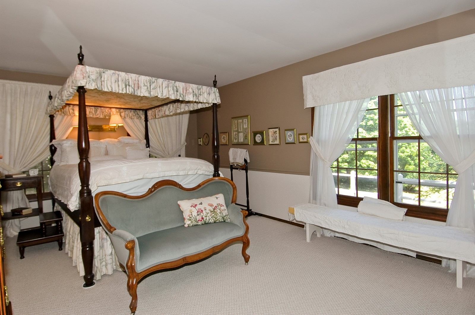Real Estate Photography - 222 River, Cary, IL, 60013 - Master Bedroom