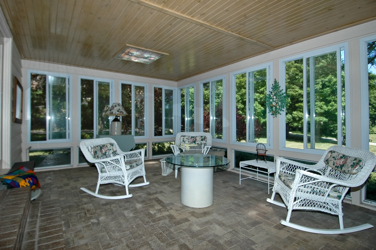 Real Estate Photography - 222 River, Cary, IL, 60013 - Porch