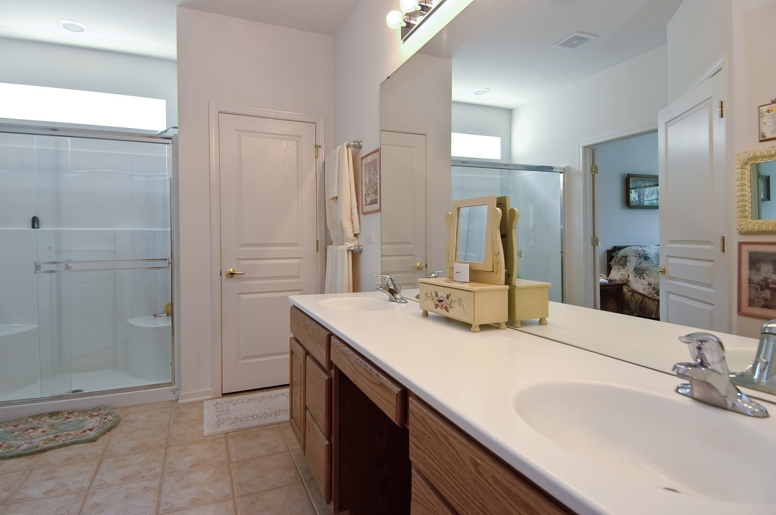 Real Estate Photography - 12206 Latham Trl, Huntley, IL, 60142 - Master Bathroom