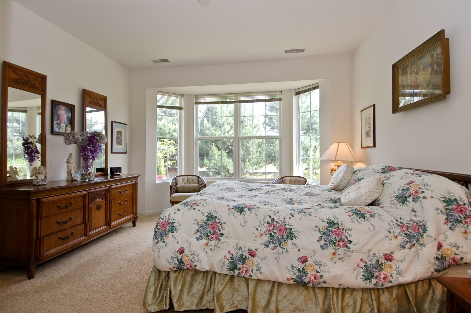 Real Estate Photography - 12206 Latham Trl, Huntley, IL, 60142 - Master Bedroom