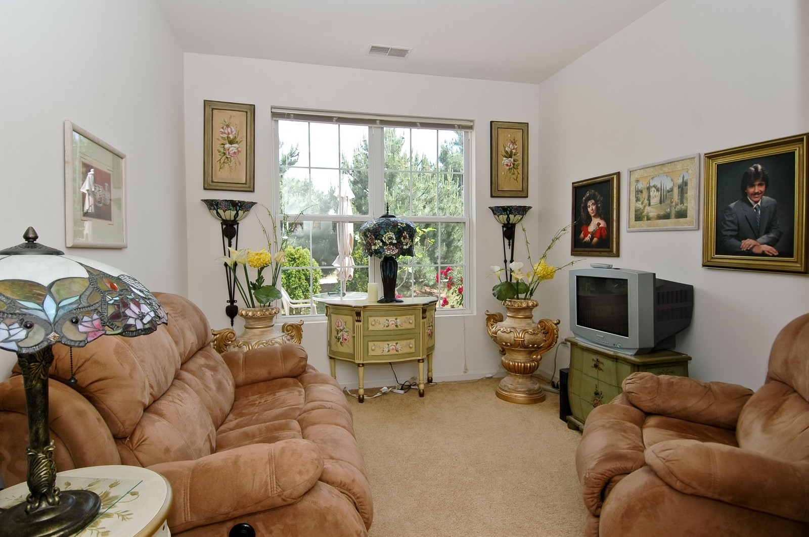 Real Estate Photography - 12206 Latham Trl, Huntley, IL, 60142 - Den