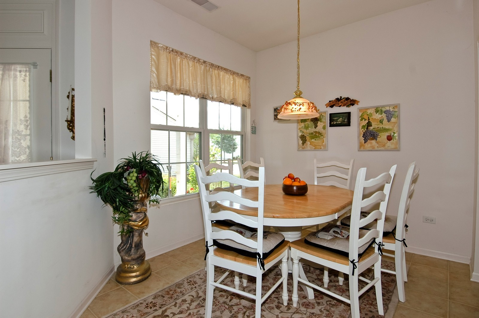 Real Estate Photography - 12206 Latham Trl, Huntley, IL, 60142 - Breakfast Nook