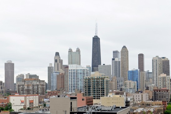 City View photograph of 700 N Larrabee Unit 908 Chicago Illinois 60610