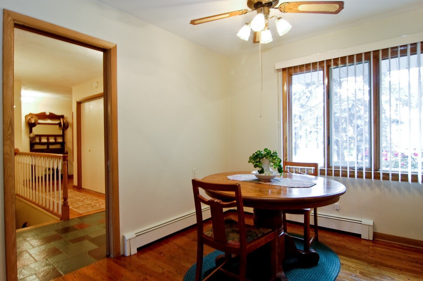 Real Estate Photography - 520 S 11th, St Charles, IL, 60174 - Breakfast Nook