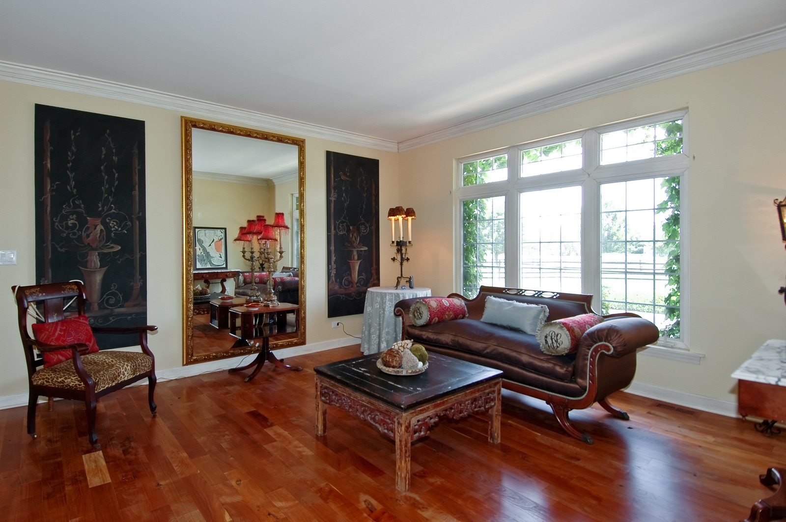 Real Estate Photography - 32W601 Rochefort, Wayne, IL, 60184 - Living Room