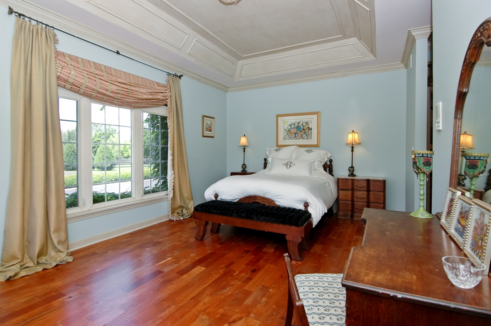 Real Estate Photography - 32W601 Rochefort, Wayne, IL, 60184 - Master Bedroom