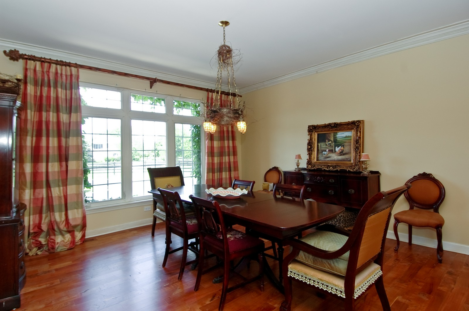 Real Estate Photography - 32W601 Rochefort, Wayne, IL, 60184 - Dining Room