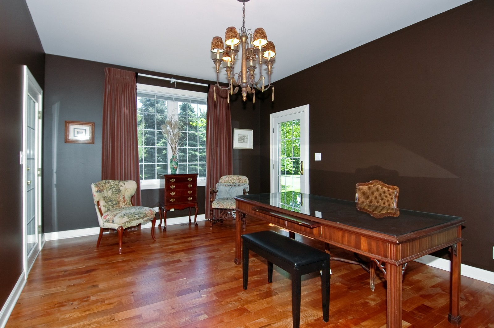 Real Estate Photography - 32W601 Rochefort, Wayne, IL, 60184 - Den