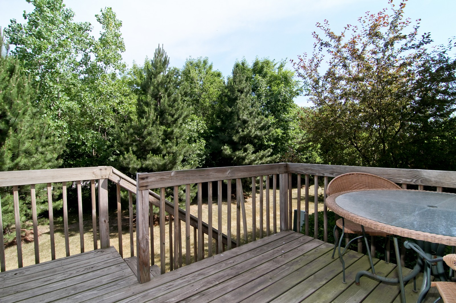 Real Estate Photography - 146 Tanglewood, Glen Ellyn, IL, 60137 - Deck
