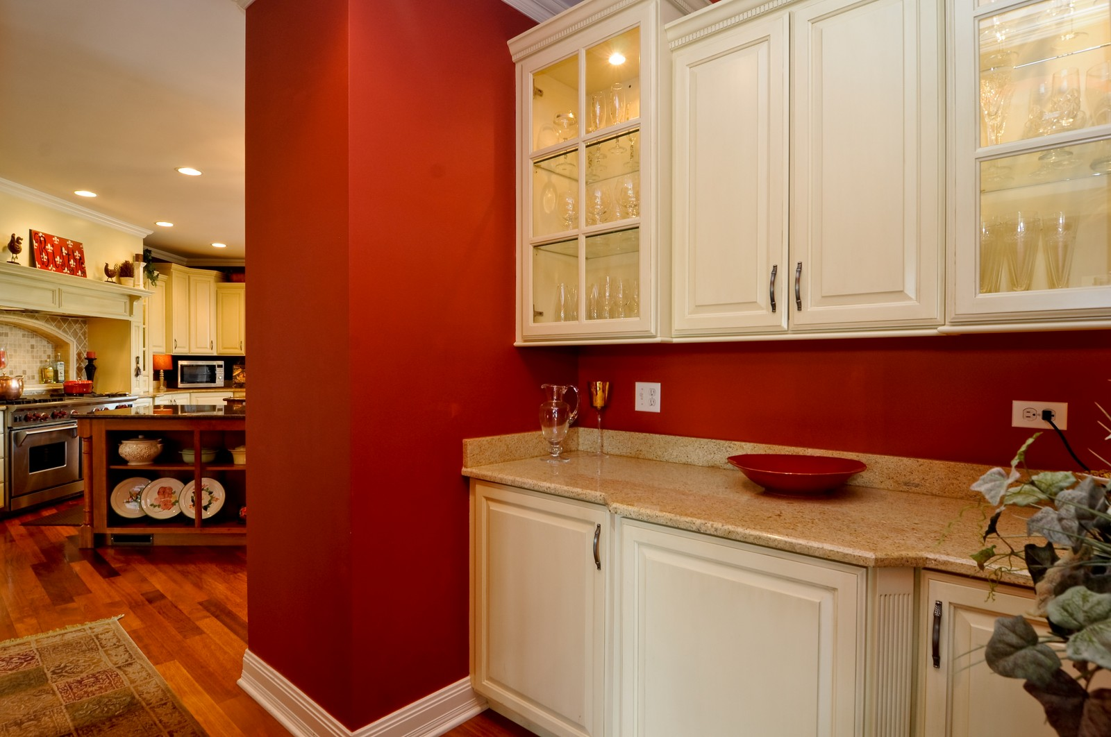 Real Estate Photography - 7 Jane, Barrington Hills, IL, 60010 - Butler Pantry