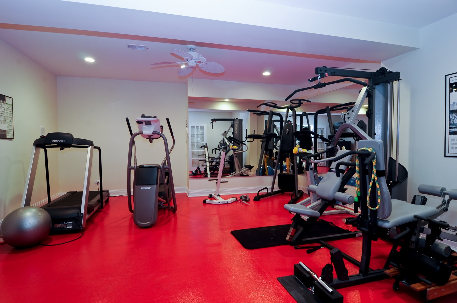 Real Estate Photography - 7 Jane, Barrington Hills, IL, 60010 - Exercise Room