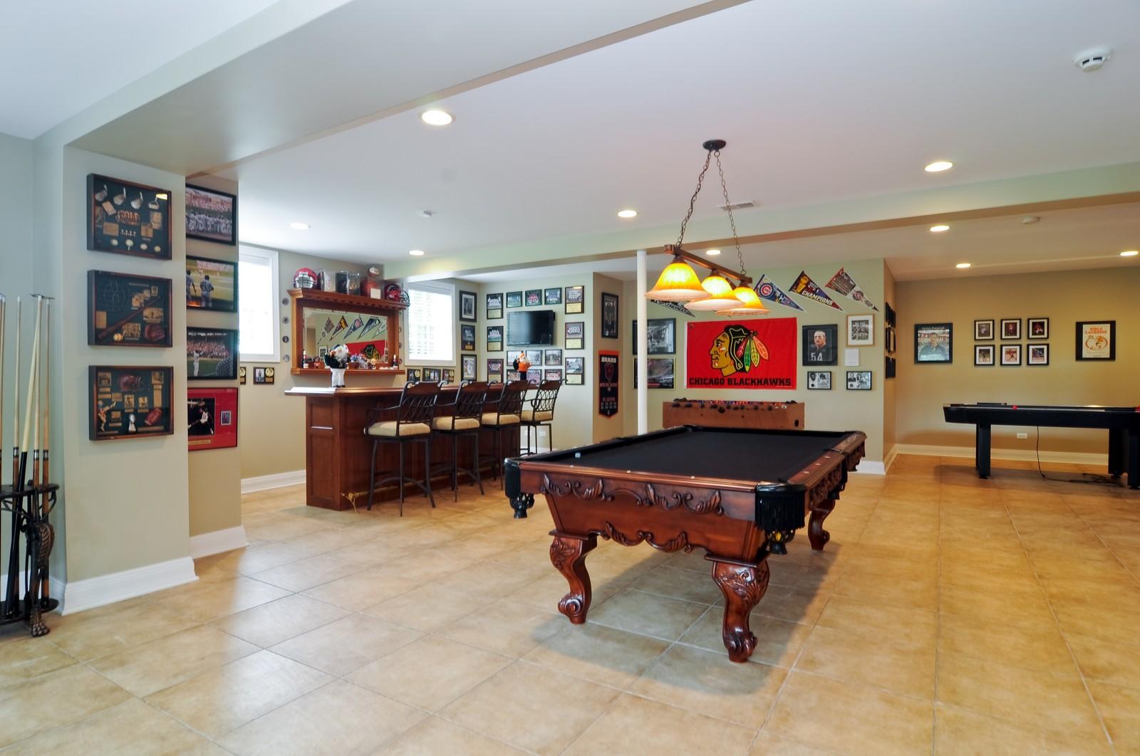 Real Estate Photography - 7 Jane, Barrington Hills, IL, 60010 - Basement