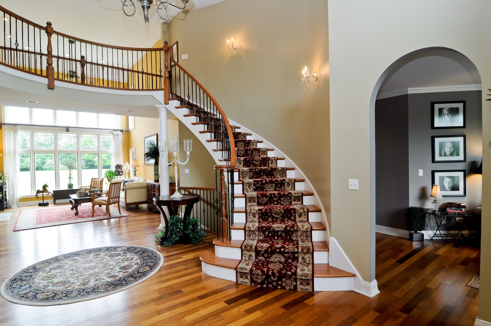 Real Estate Photography - 7 Jane, Barrington Hills, IL, 60010 - Foyer