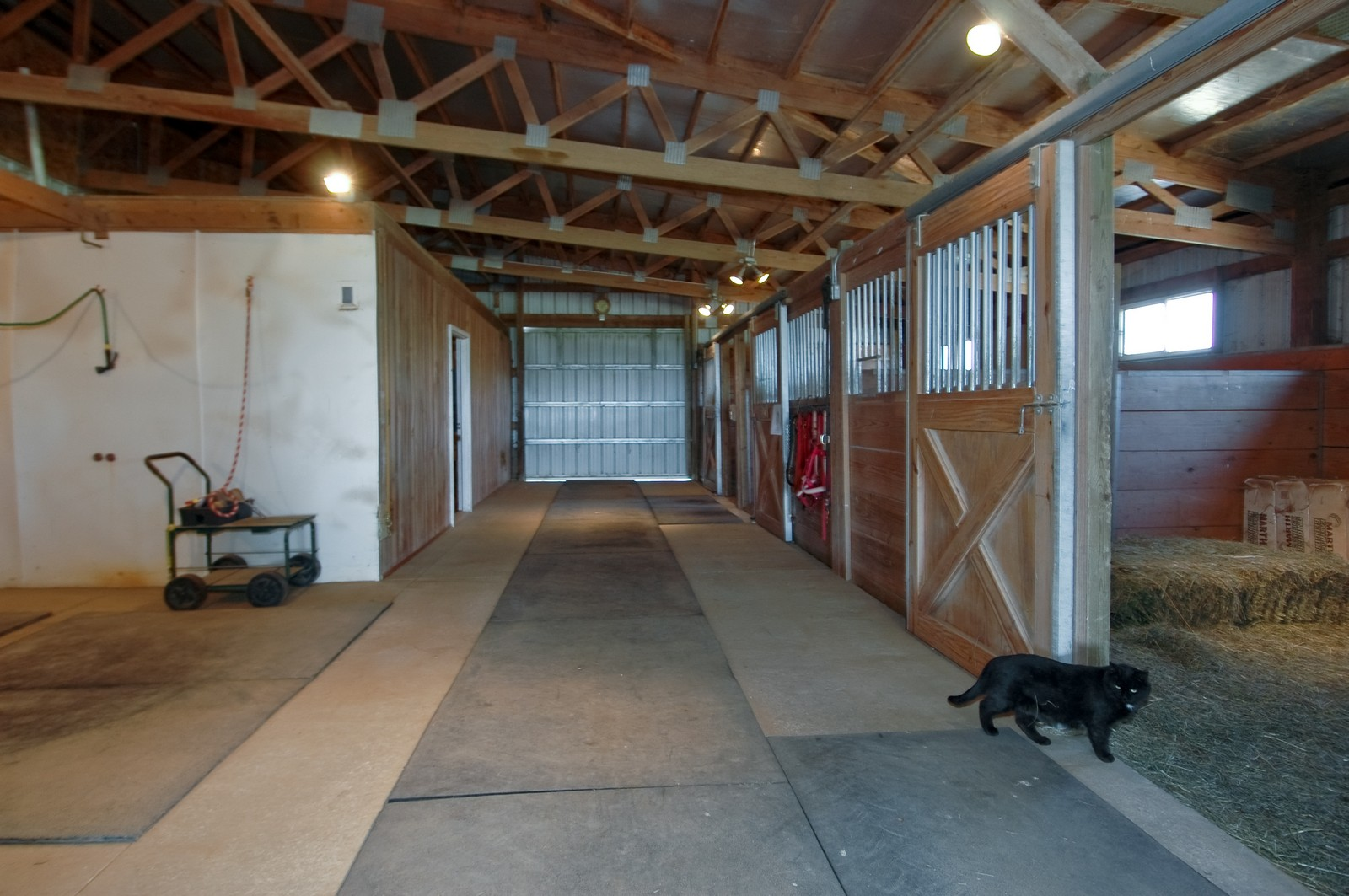 Real Estate Photography - 11785 Coon Trail, Harvard, IL, 60033 - Horse Stall / Stables