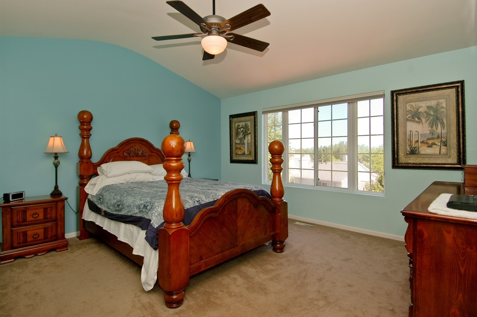 Real Estate Photography - 205 Lake, Algonquin, IL, 60102 - Master Bedroom