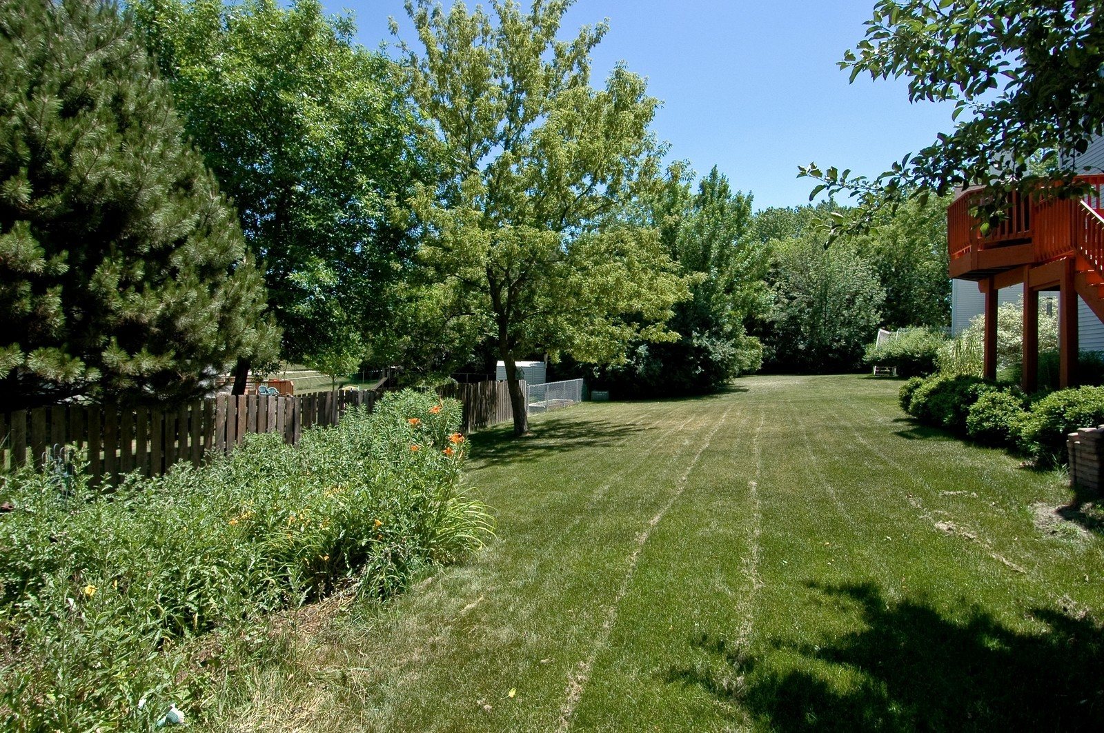 Real Estate Photography - 205 Lake, Algonquin, IL, 60102 - Back Yard