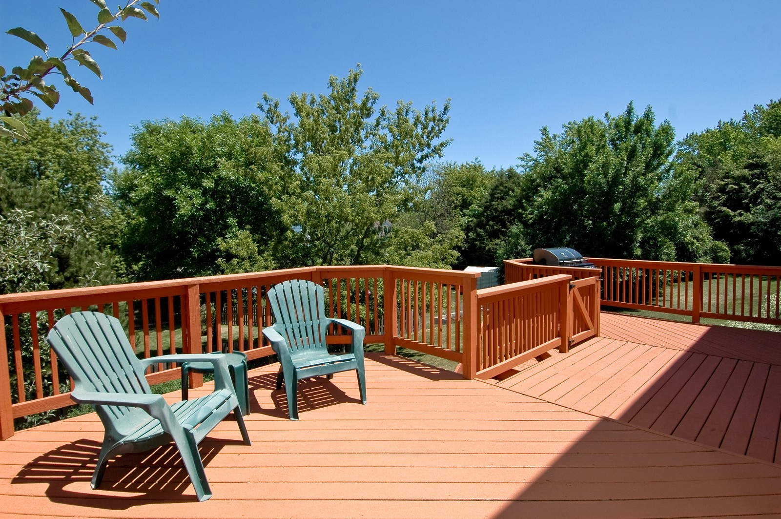Real Estate Photography - 205 Lake, Algonquin, IL, 60102 - Deck