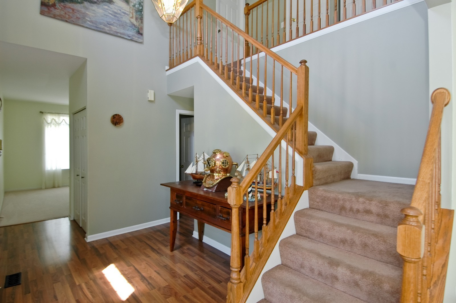 Real Estate Photography - 205 Lake, Algonquin, IL, 60102 - Staircase