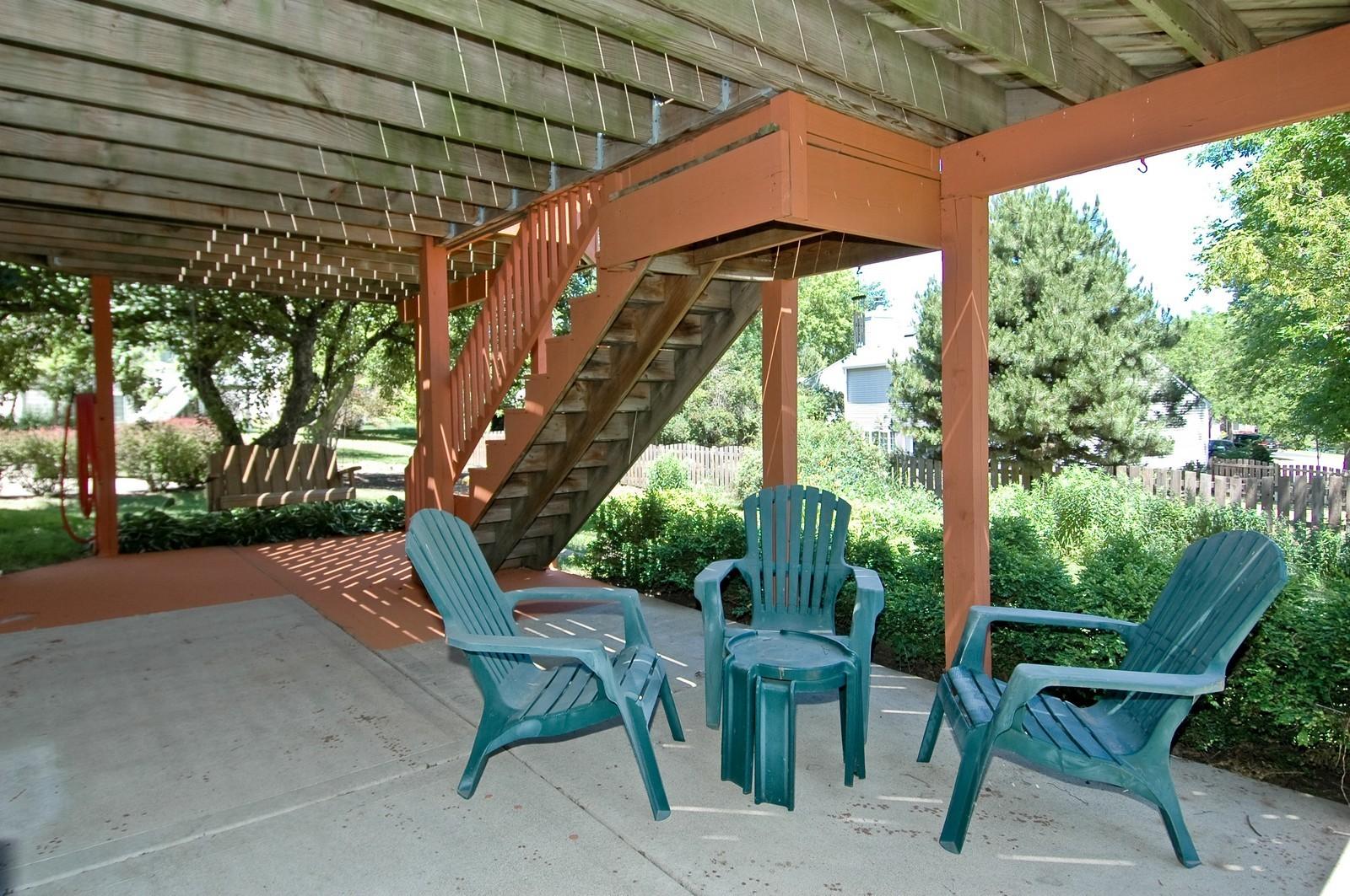 Real Estate Photography - 205 Lake, Algonquin, IL, 60102 - Patio
