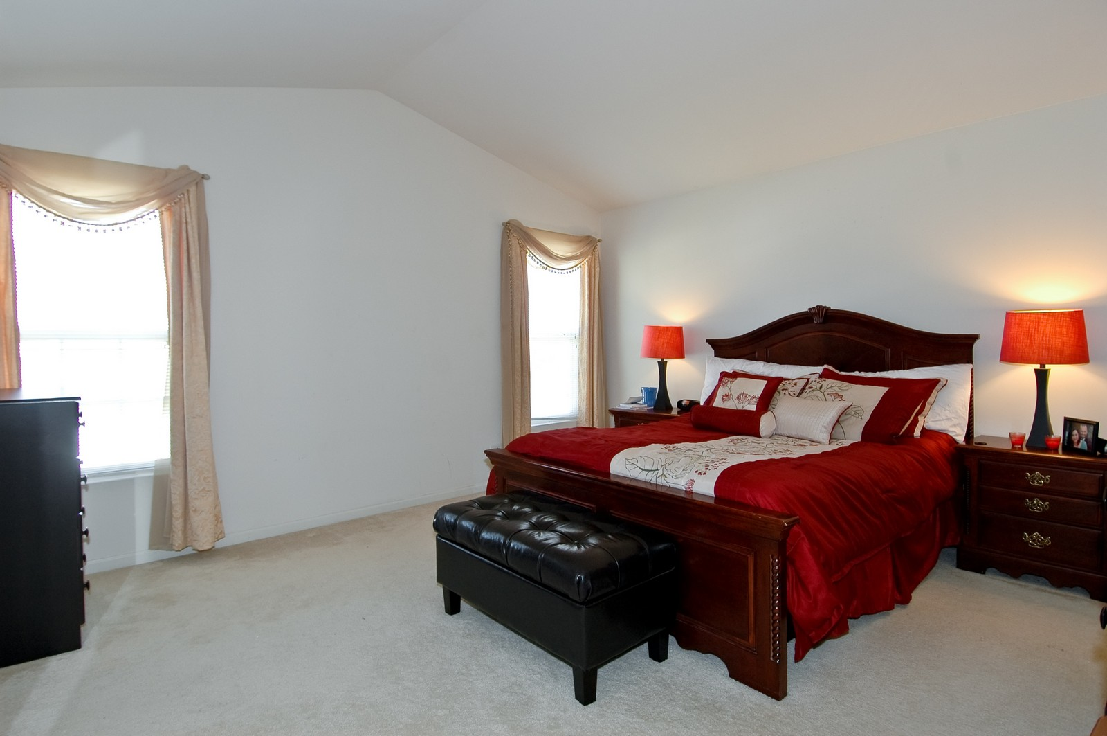 Real Estate Photography - 195 Crystal Ridge, Crystal Lake, IL, 60012 - Master Bedroom