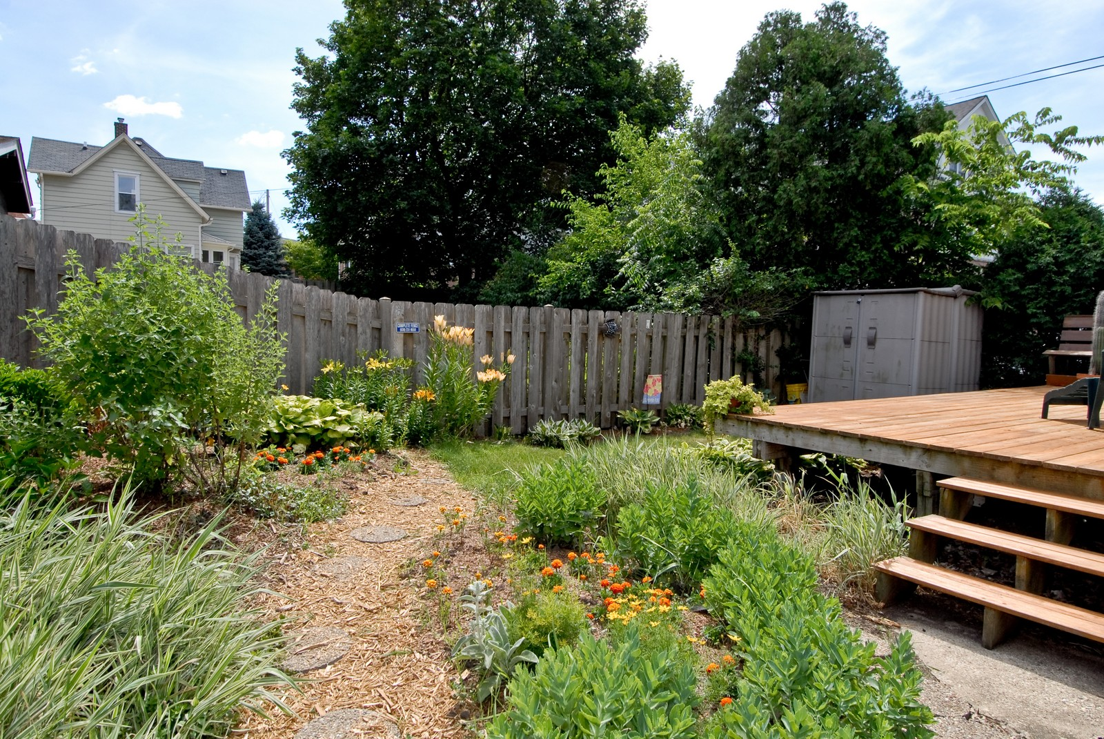 Real Estate Photography - 108 S 4th, Saint Charles, IL, 60174 - Back Yard