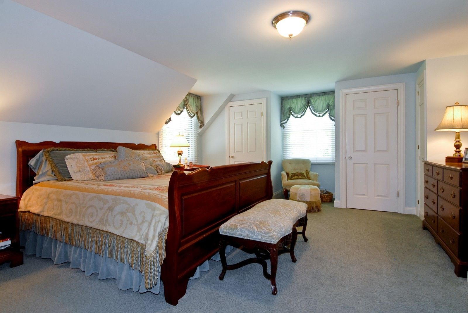Real Estate Photography - 417 S McKinley, St Charles, IL, 60174 - Master Bedroom