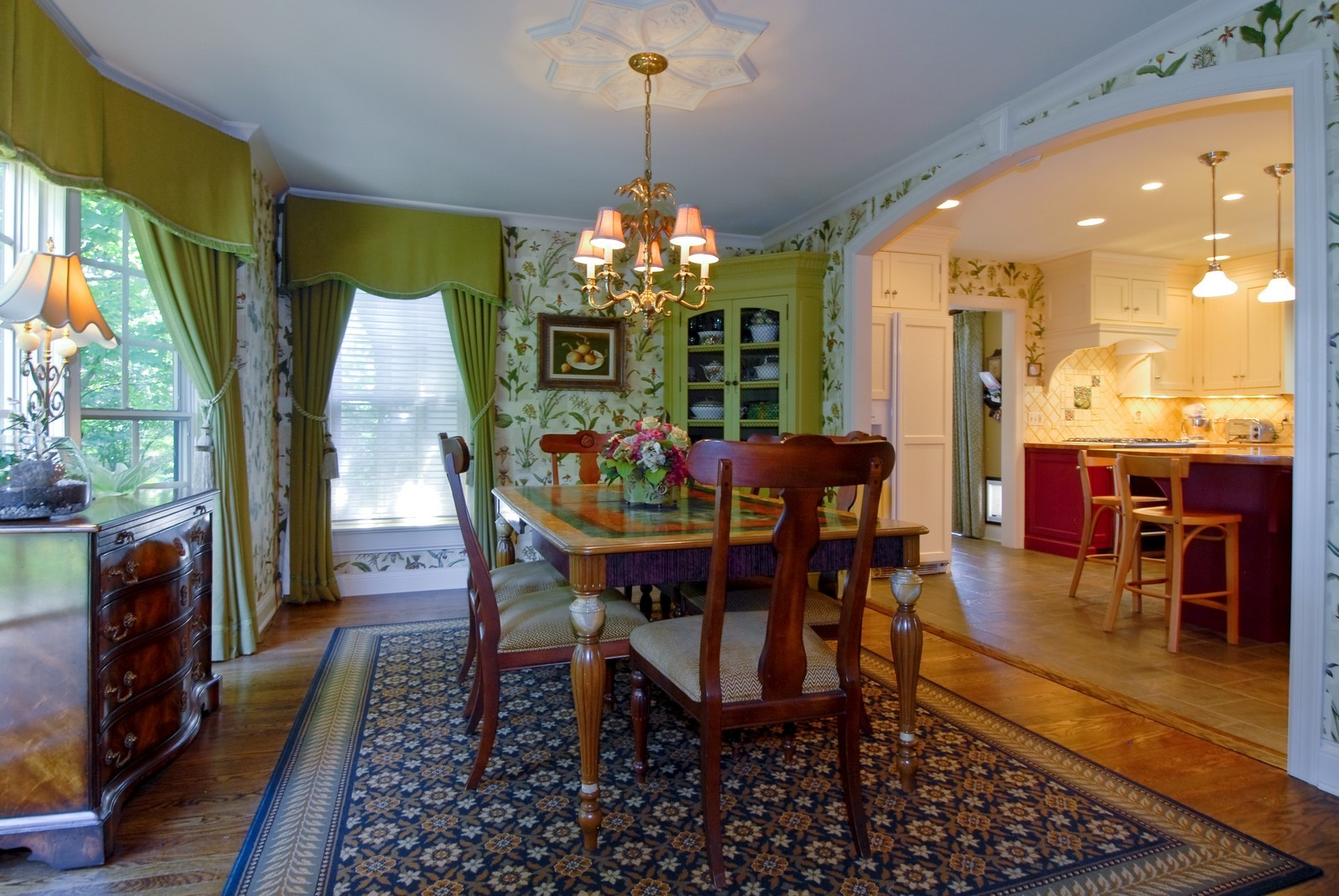 Real Estate Photography - 417 S McKinley, St Charles, IL, 60174 - Dining Room