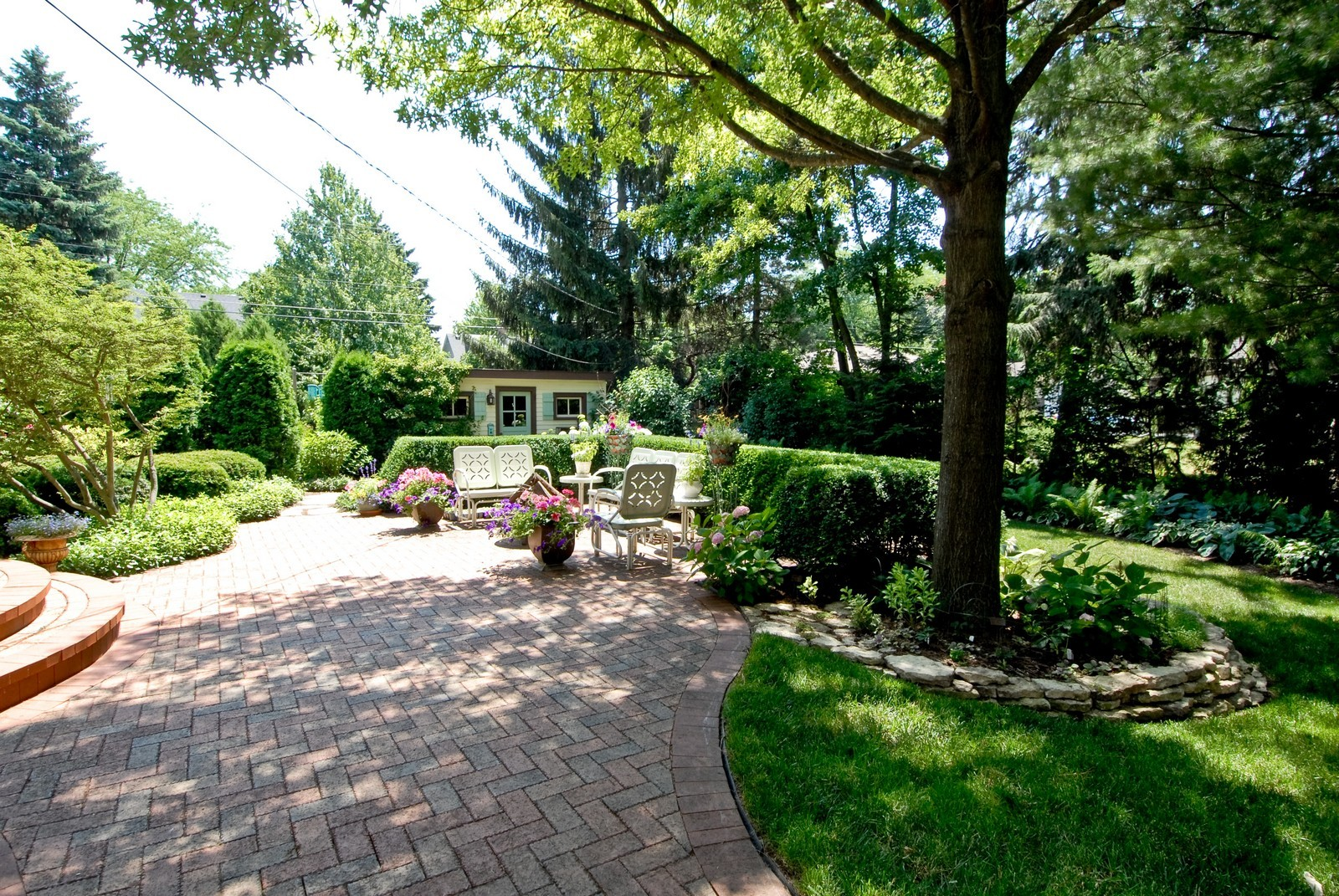Real Estate Photography - 417 S McKinley, St Charles, IL, 60174 - Patio