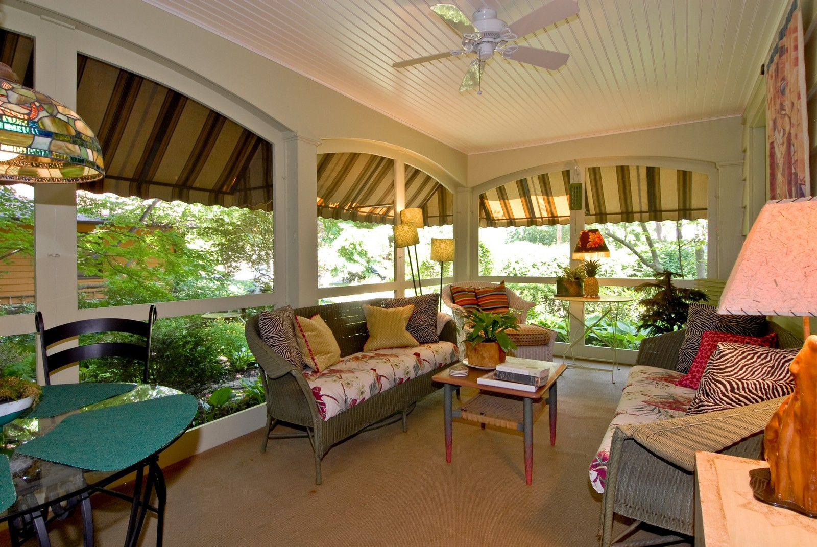 Real Estate Photography - 417 S McKinley, St Charles, IL, 60174 - Sun Room