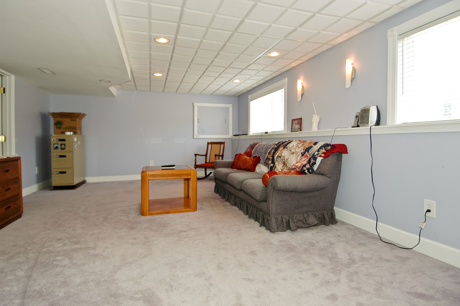 Real Estate Photography - 1211 Fieldstone, Crystal Lake, IL, 60014 - Bonus Room