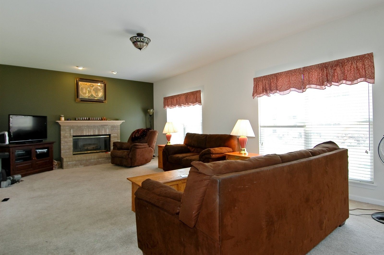 Real Estate Photography - 1211 Fieldstone, Crystal Lake, IL, 60014 - Family Room