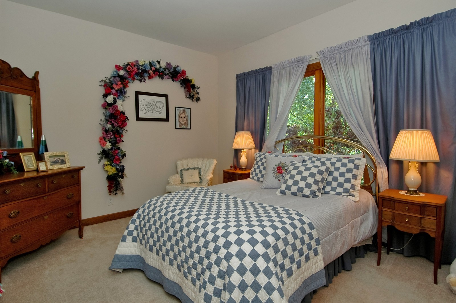 Real Estate Photography - 9004 Wildrose, Marengo, IL, 60152 - 2nd Bedroom