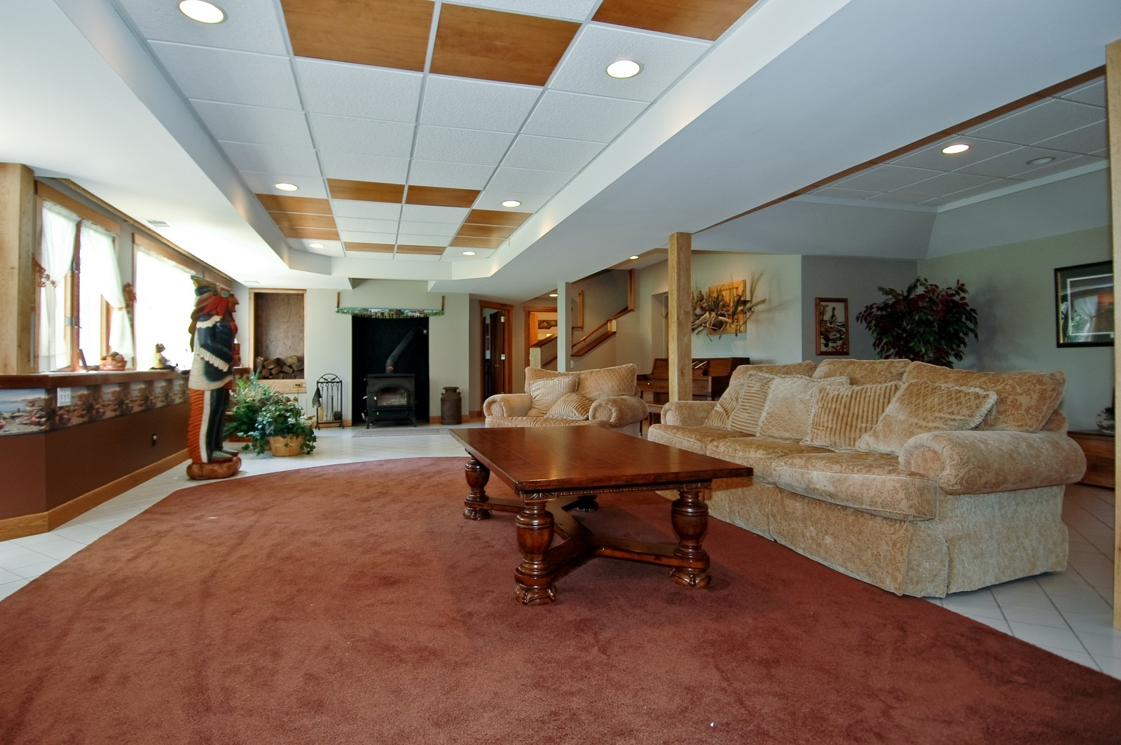 Real Estate Photography - 9004 Wildrose, Marengo, IL, 60152 - Lower Level