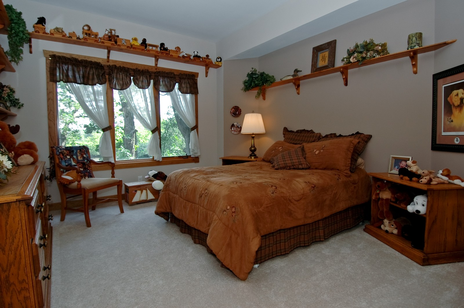 Real Estate Photography - 9004 Wildrose, Marengo, IL, 60152 - Bedroom