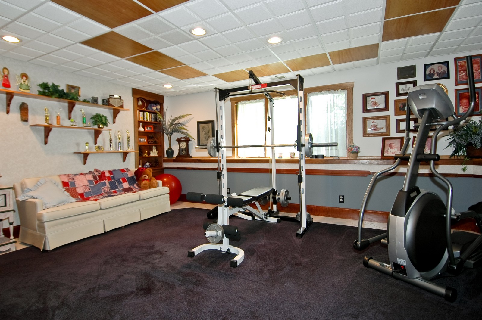 Real Estate Photography - 9004 Wildrose, Marengo, IL, 60152 - Exercise Room