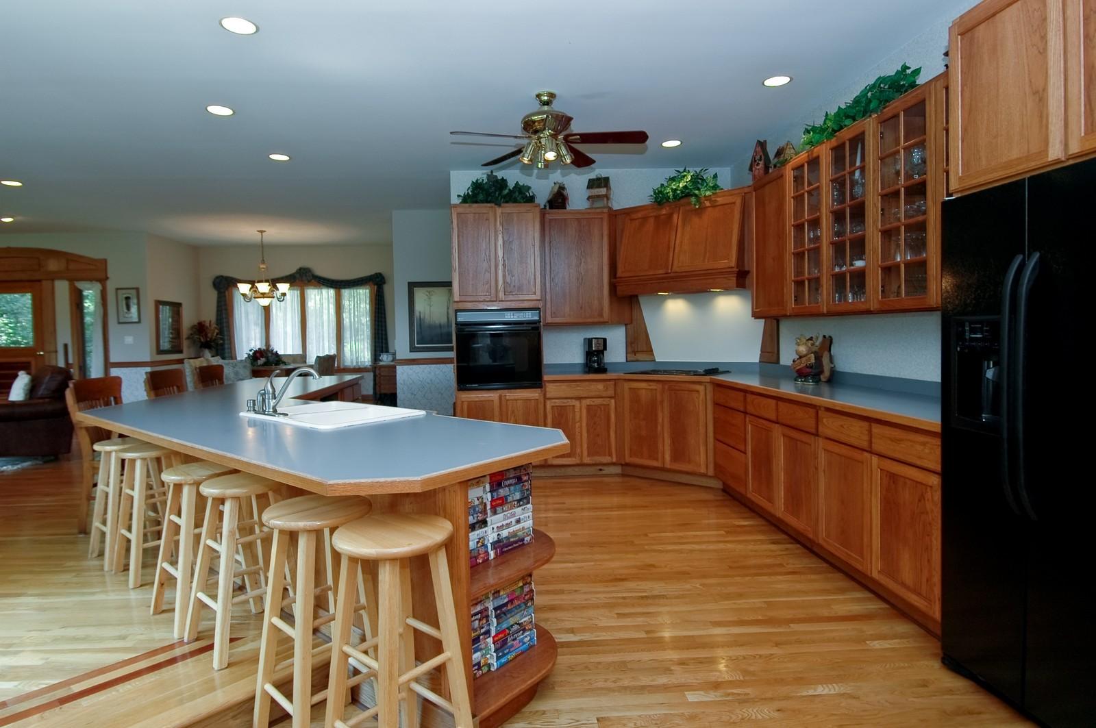 Real Estate Photography - 9004 Wildrose, Marengo, IL, 60152 - Kitchen