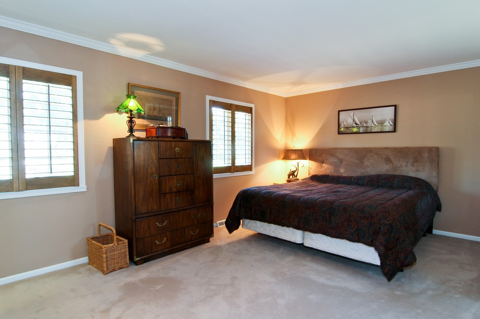 Real Estate Photography - 1130 Howard, St Charles, IL, 60174 - Bedroom