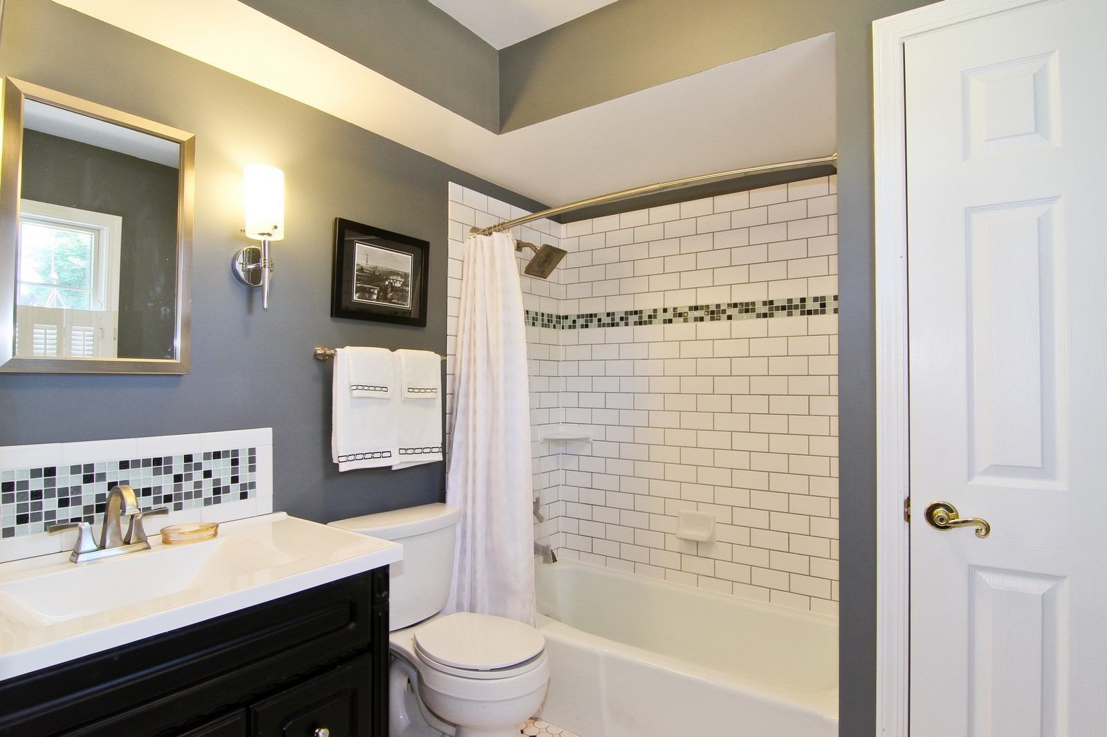 Real Estate Photography - 1130 Howard, St Charles, IL, 60174 - Bathroom