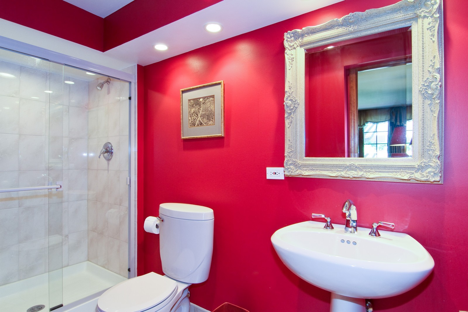 Real Estate Photography - 1130 Howard, St Charles, IL, 60174 - 2nd Bathroom