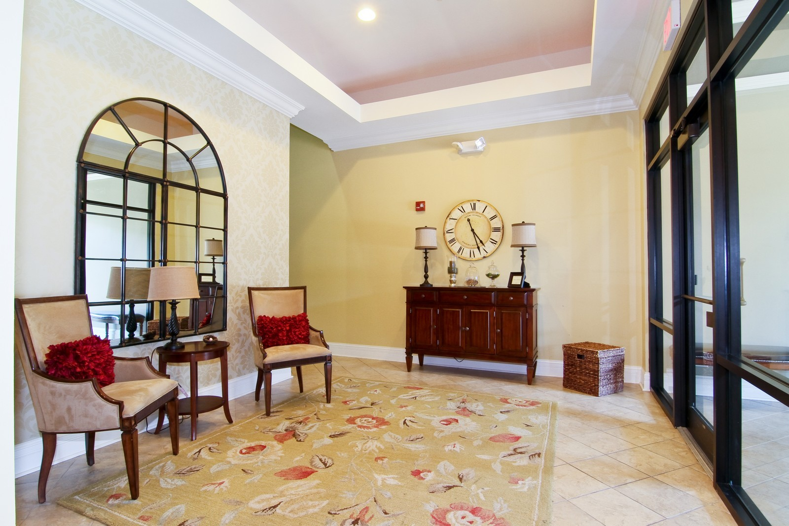 Real Estate Photography - 930 Curtiss, Unit 109, Downers Grove, IL, 60515 - Lobby