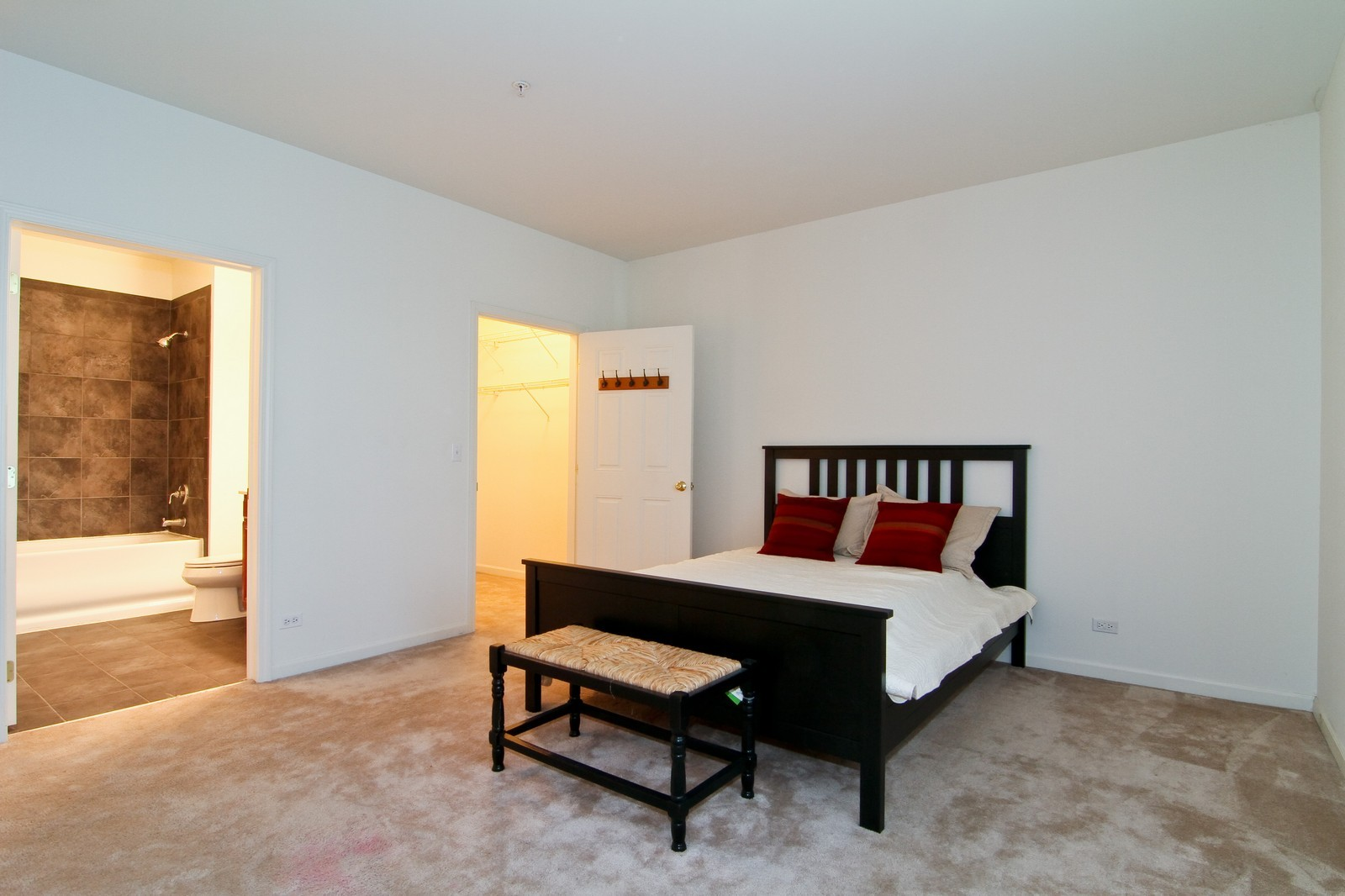 Real Estate Photography - 930 Curtiss, Unit 109, Downers Grove, IL, 60515 - Bedroom