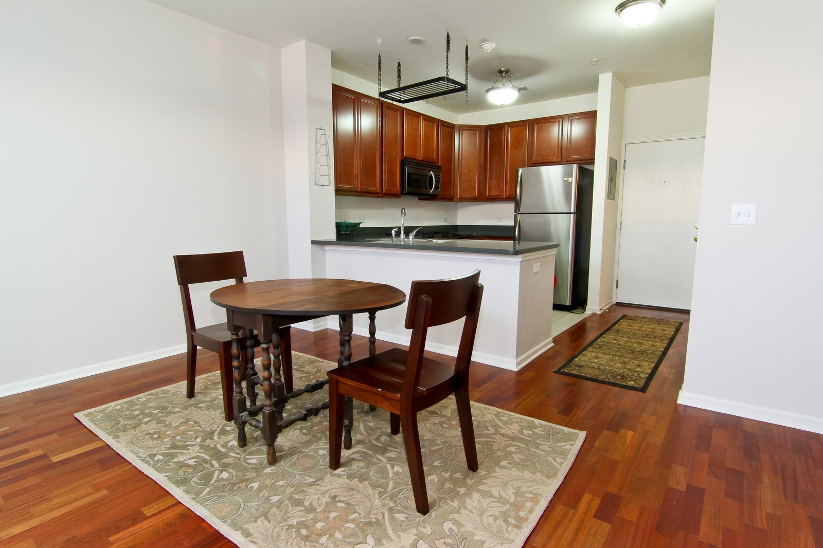 Real Estate Photography - 930 Curtiss, Unit 109, Downers Grove, IL, 60515 - Breakfast Area