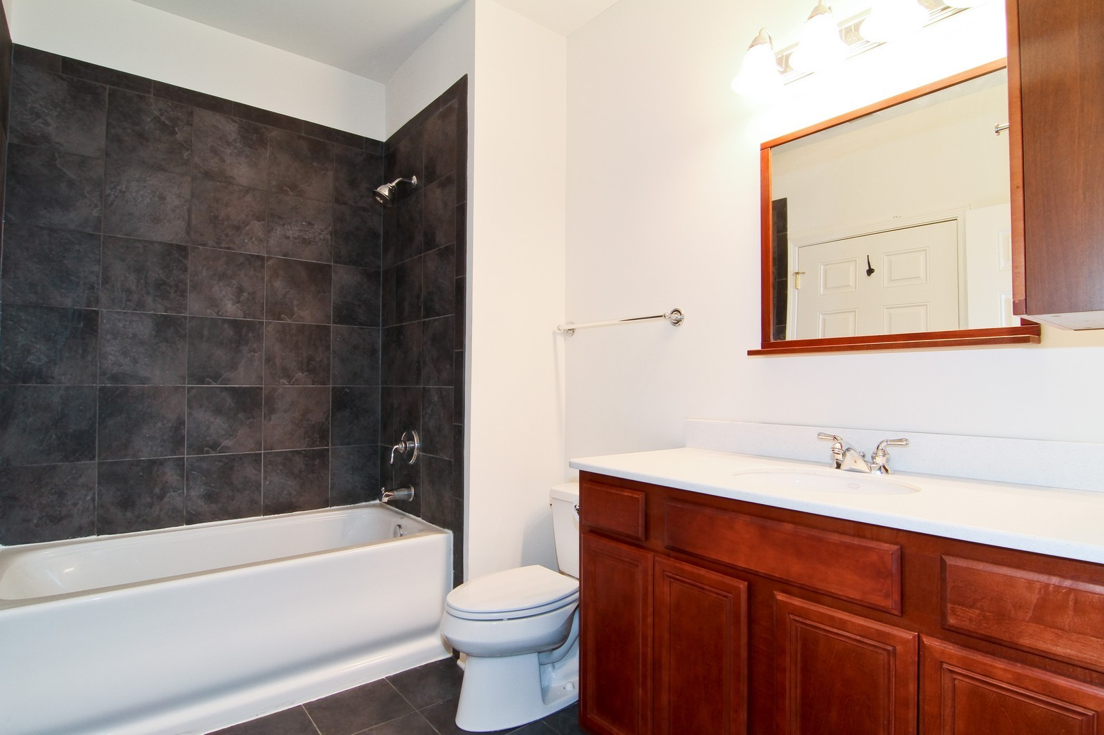 Real Estate Photography - 930 Curtiss, Unit 109, Downers Grove, IL, 60515 - Bathroom