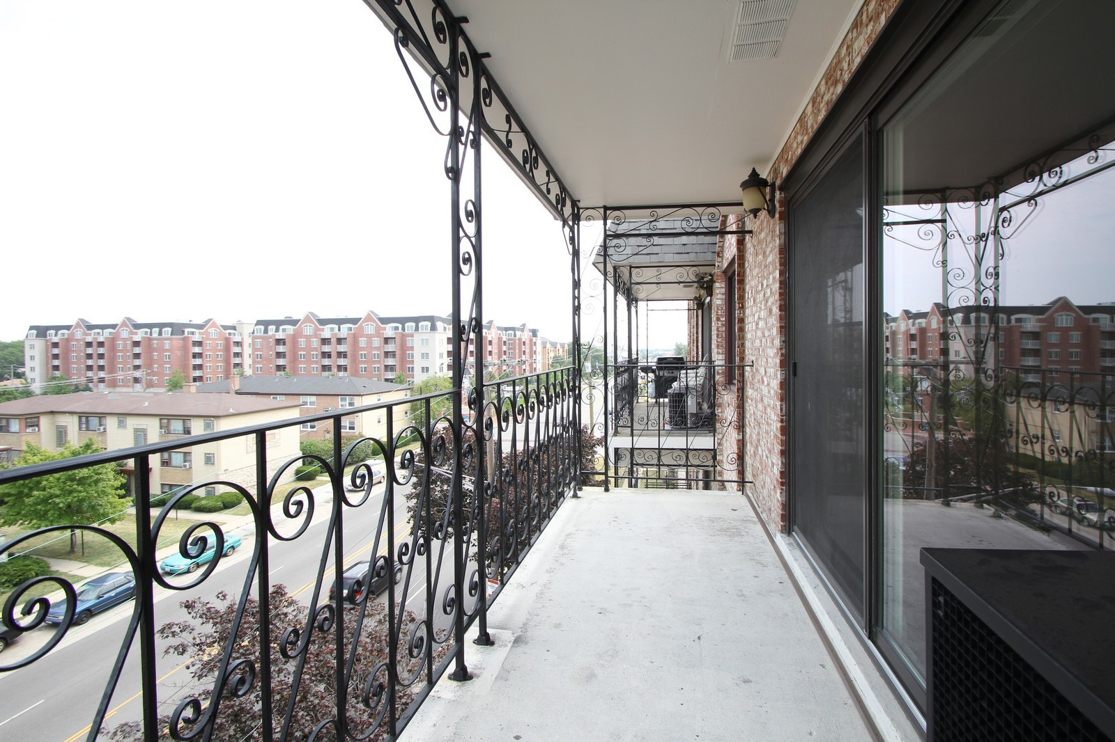 Real Estate Photography - 7525 W Lawrence, Unit 503, Harwood Heights, IL, 60706 - Balcony